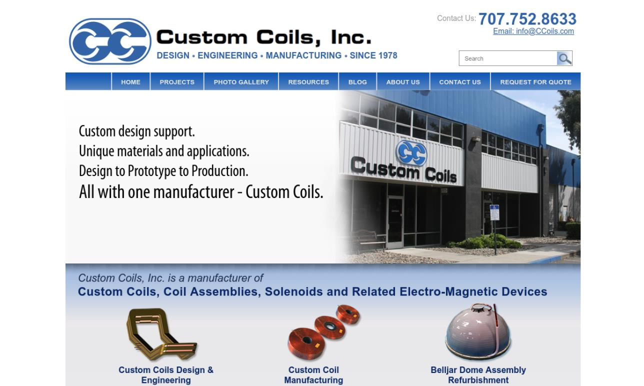 Custom Coils, Inc.