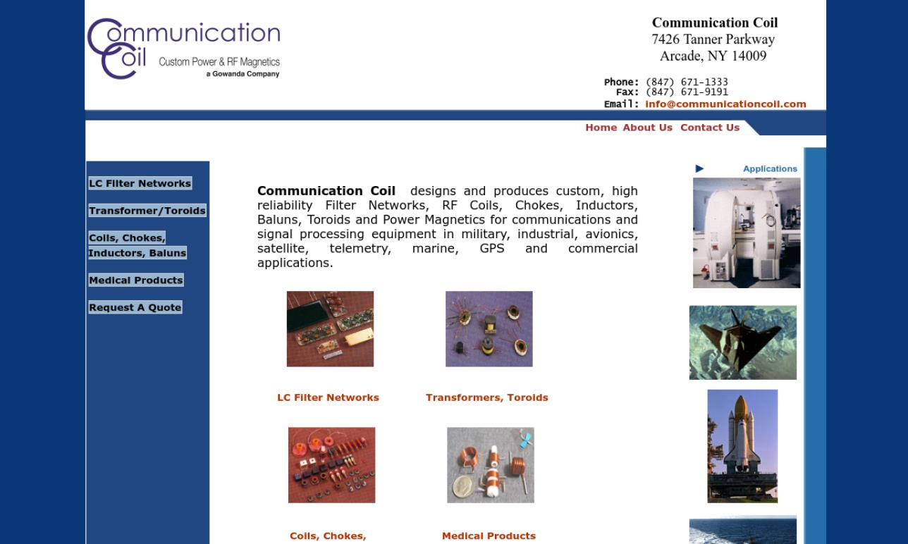 Communication Coil, Inc.