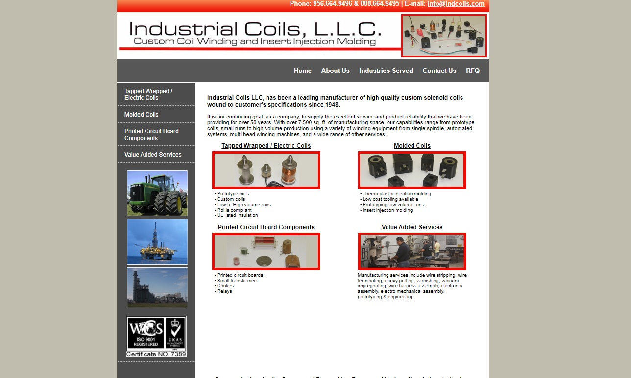 Industrial Coils, LLC.