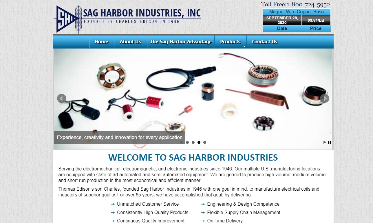 Sag Harbor Industries, Inc.